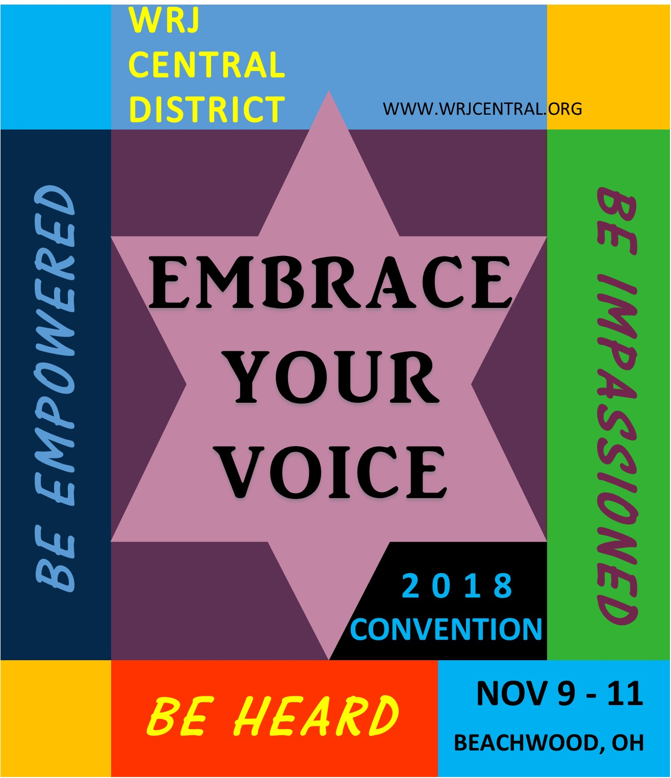 Plan to attend: 2018 Central District Convention